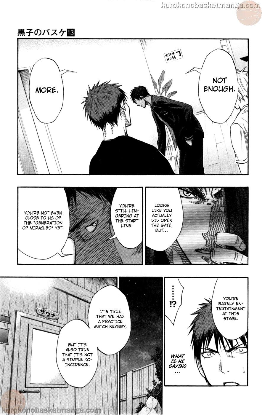 Kuroko no Basket Manga Chapter 110 - Image 09