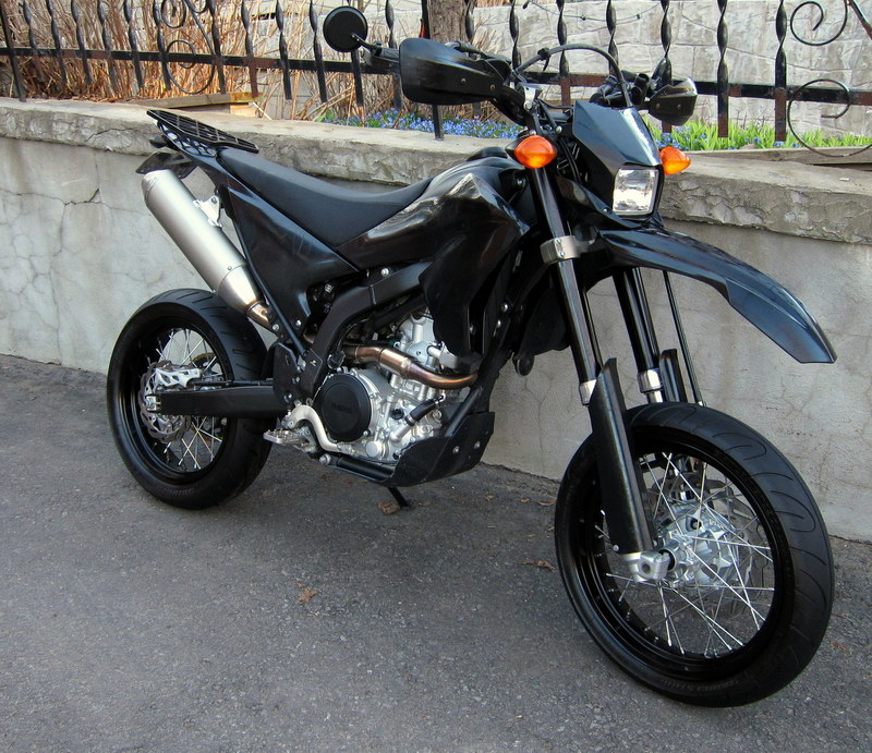 2009 Yamaha WR250X in street trim