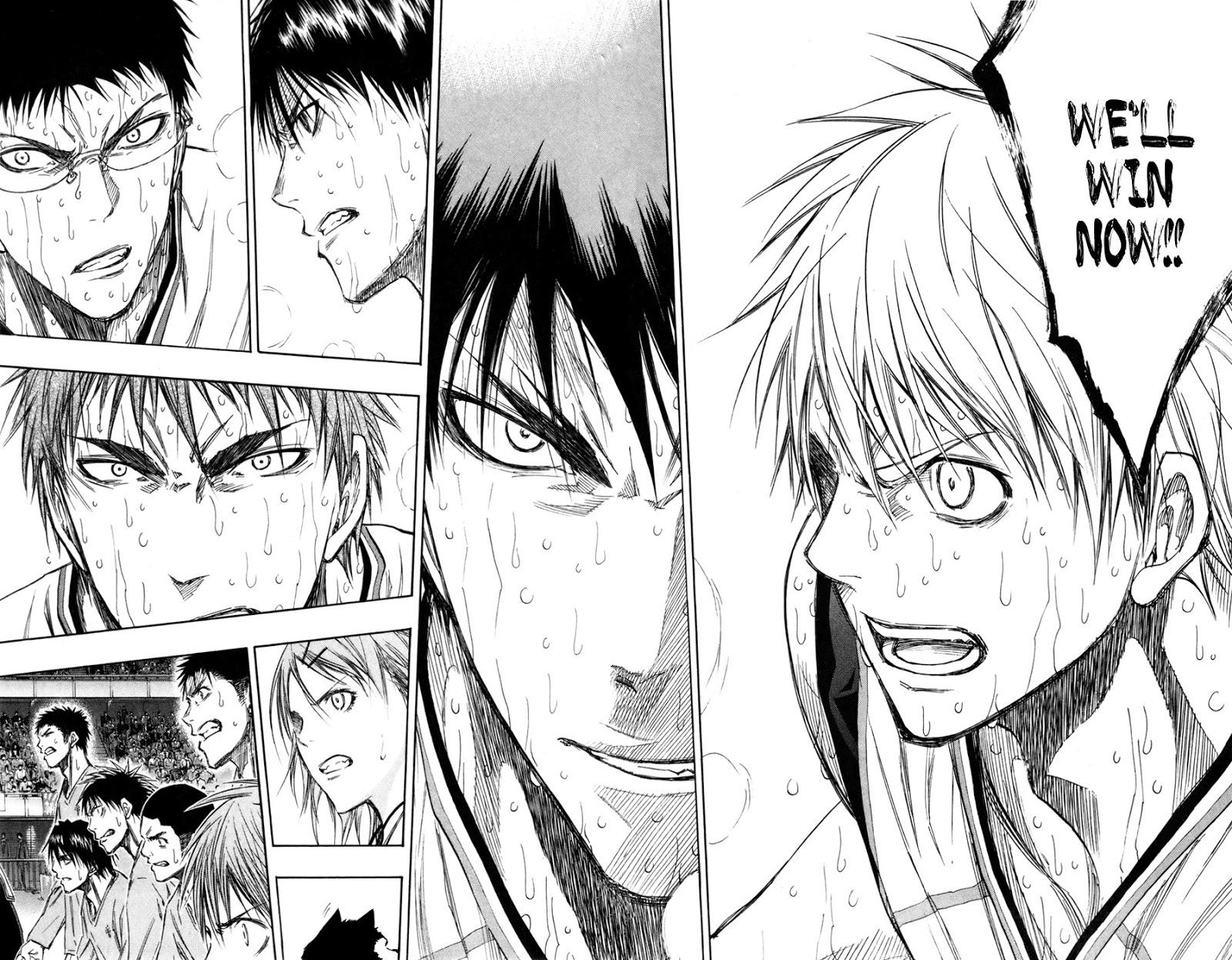 Kuroko no Basket Manga Chapter 128 - Image 12-13