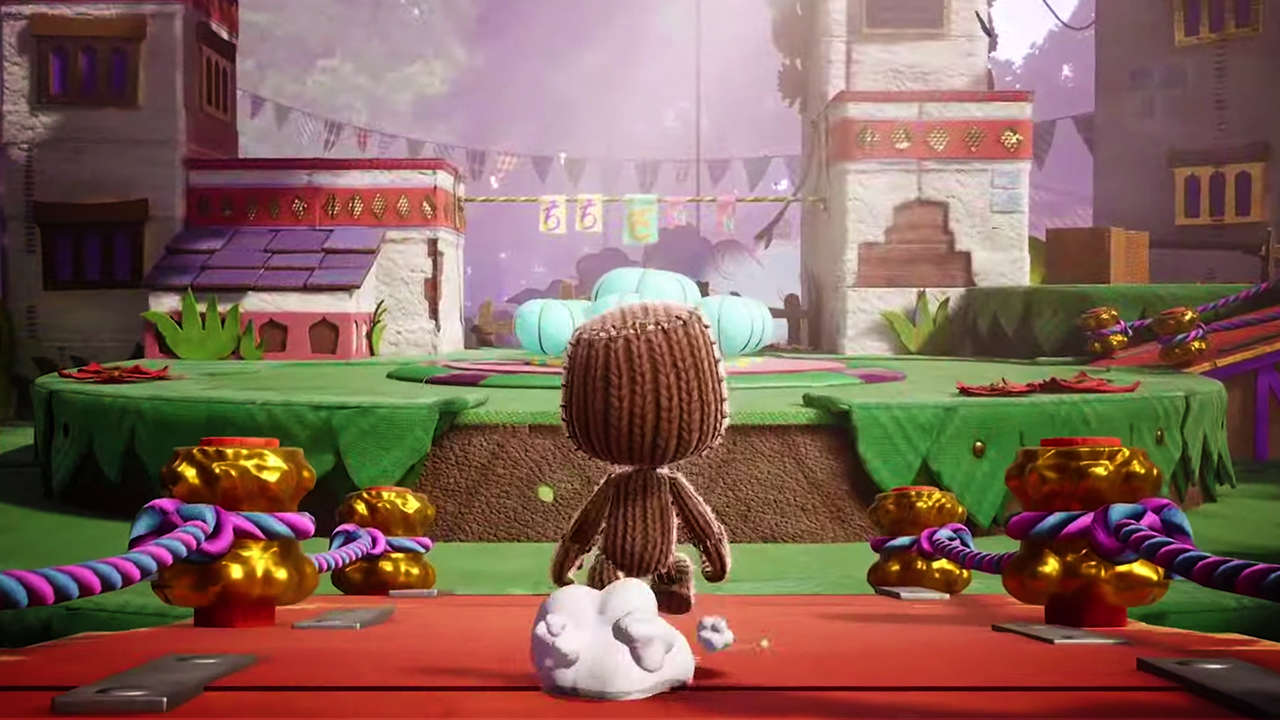 Sackboy: A Big Adventure. (Foto: Reprodução/Youtube/PlayStation)