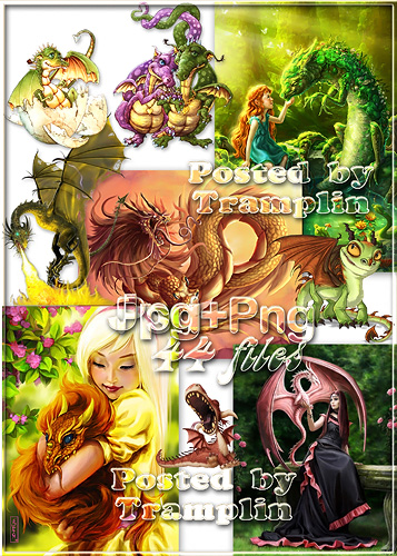 Драконы и дракончики – Символ наступающего Нового 2012 года