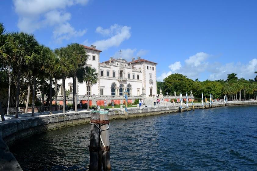 Музейно-парковый комплекс Вилла Визкайя, Флорида (Vizcaya Museum & Gardens)