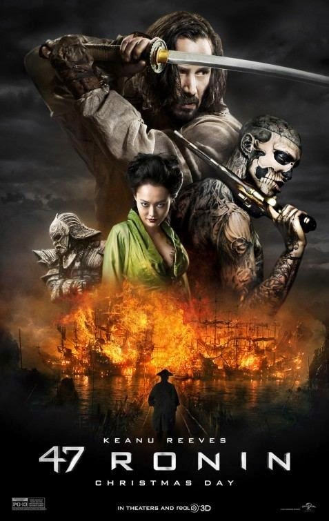 Poster Of 47 Ronin (2013) Full Movie Hindi Dubbed Free Download Watch Online At Alldownloads4u.Com