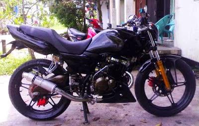 Motor Thunder Modifikasi Harley