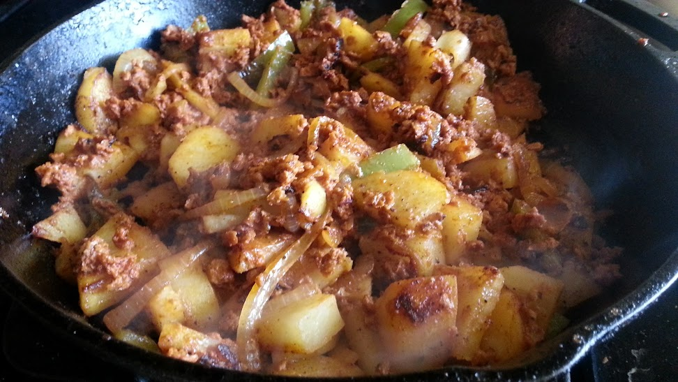Potatoes with Soy Chorizo - Bigmista's Daniel Fast Recipe