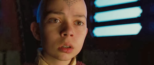 Screen Shot Of Hollywood Movie The Last Airbender (2010) In Hindi English Full Movie Free Download And Watch Online at Alldownloads4u.Com