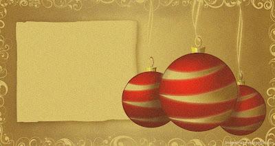 Decoración de Navidad para imprimir.