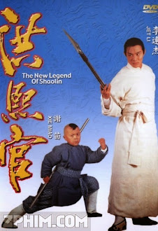 Hồng Hy Quan - The New Legend of Shaolin (1994) Poster