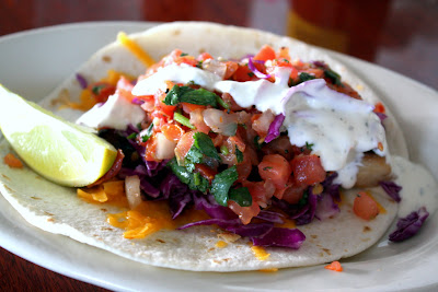 Fish Tacos in San Diego