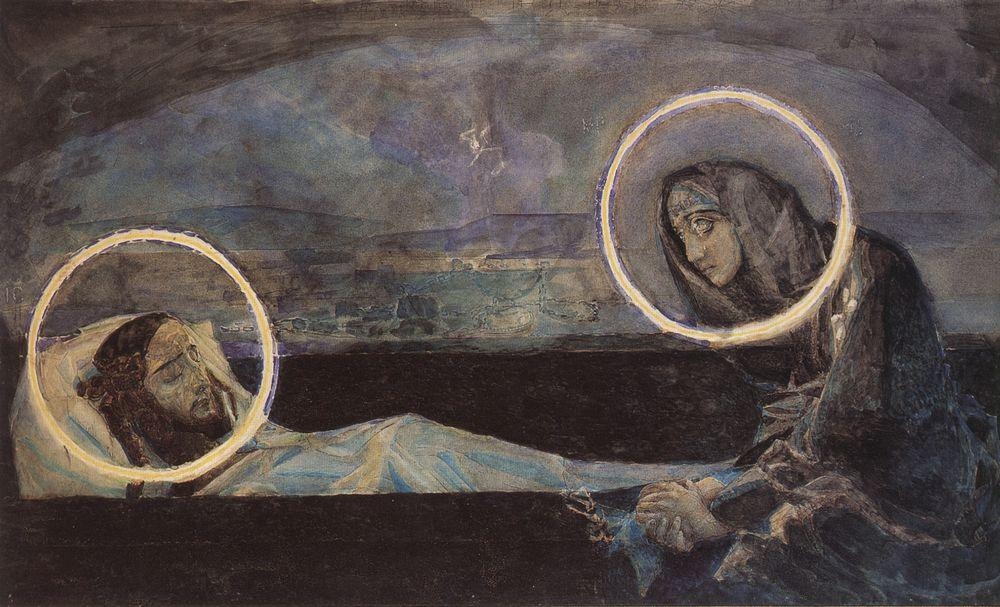 Mikhail Vrubel - Lamentation