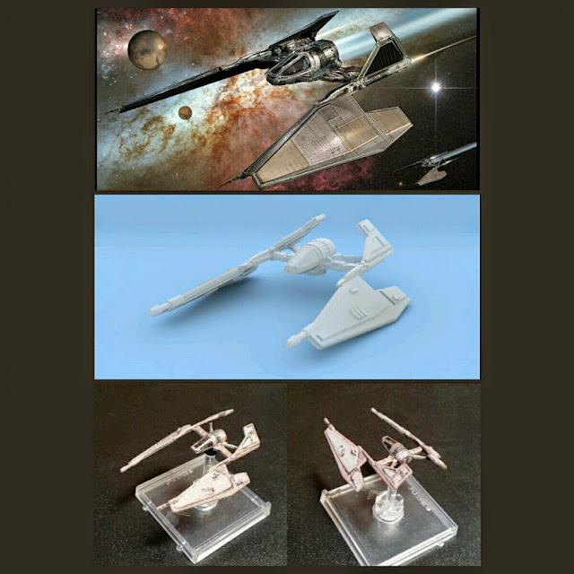 Sith Fighter de Mel Miniatures