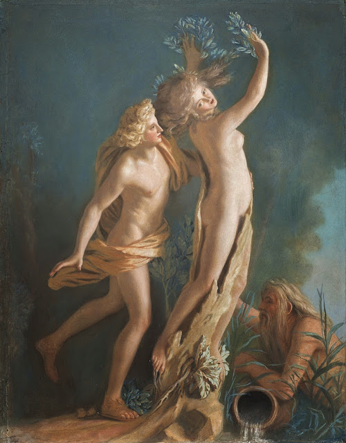 Jean-Étienne Liotard - Apollo and Daphne