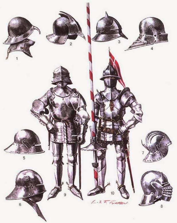 Рыцари и их доспехи