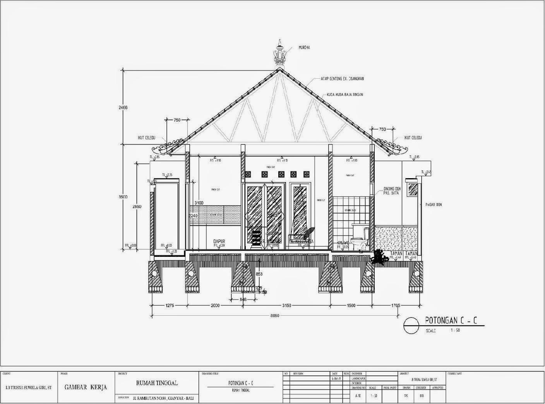 Contoh Menggambar Rumah Images | rumah minimalis