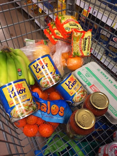 My cart sort of looks like I'm a vegan!