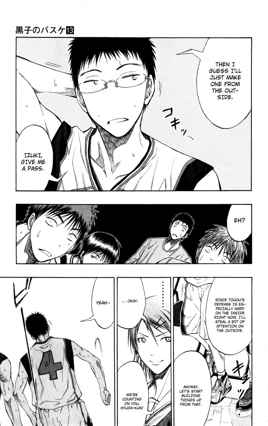 Kuroko no Basket Manga Chapter 117 - Image 3_181