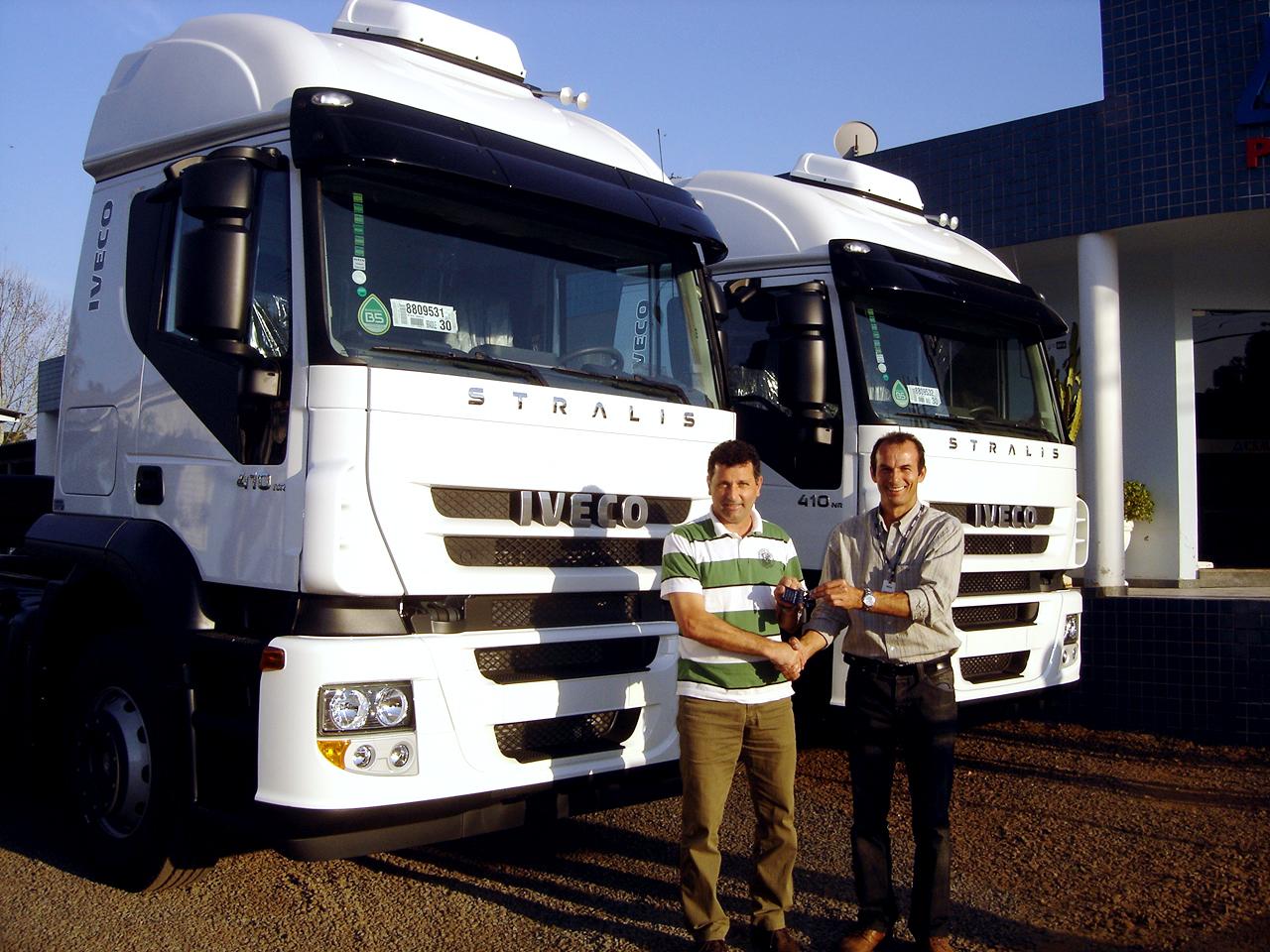 Unidades Iveco 0km são entregues na região de Chapecó, ampliando produtividade de clientes SADI%252520JOS%2525C3%252589%252520MORGAN%252520CSM