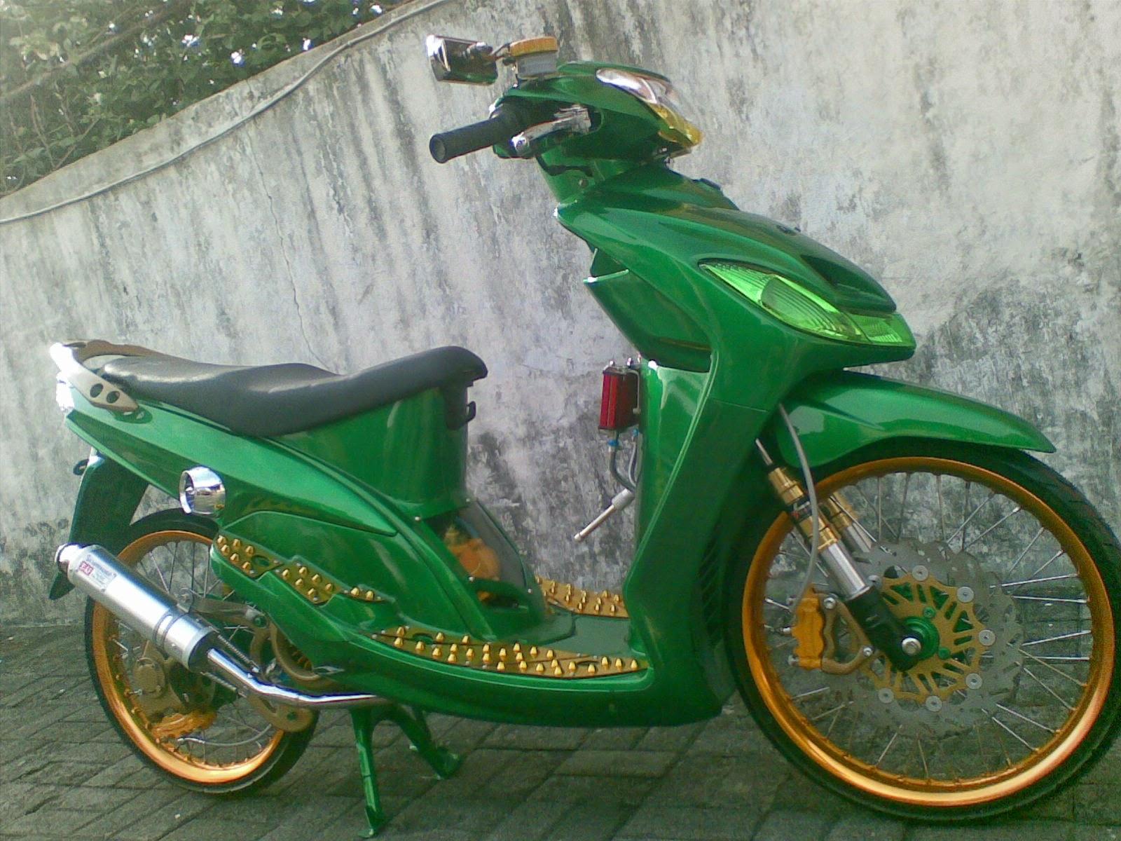 Modifikasi Yamaha Mio Sporty Standar