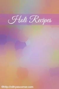 Festival and Celebration Recipes