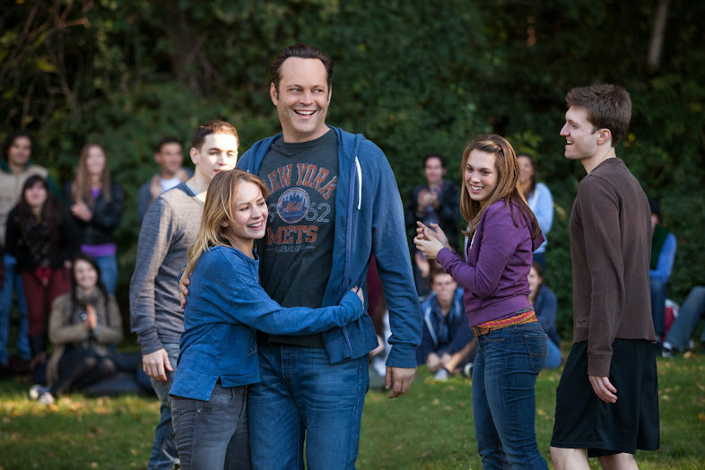 David (Vince Vaughn) and His Biological Kids #DeliveryManEvent