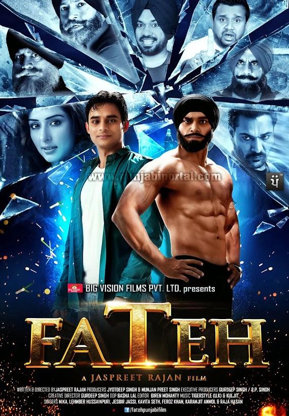 Fateh Film Poster