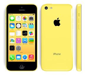 iPhone5c イエロー