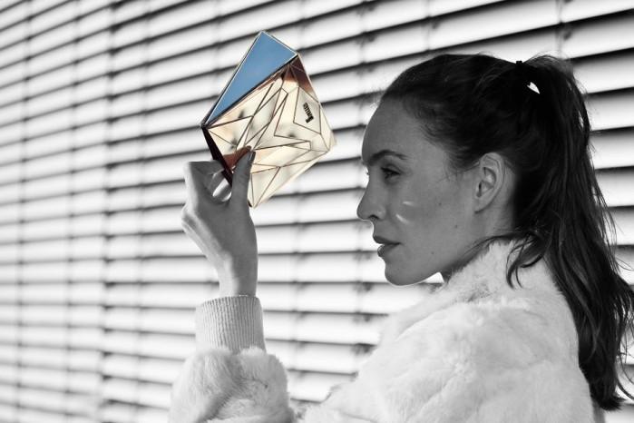 *「立體幾何拼接」BAGUERA:設計師Branca Cuvier的手拿包! 7