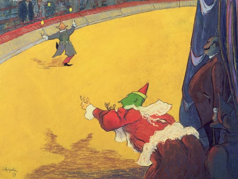 Louis Anquetin - A Circus Scene , 1887
