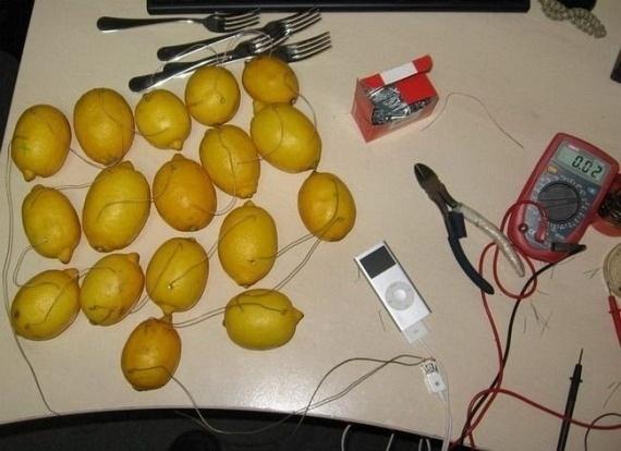 Lemons iPod Charger