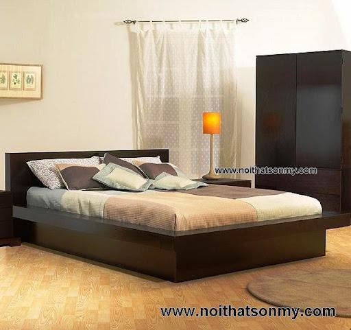 Giường ngủ gỗ kiểu nhật-2