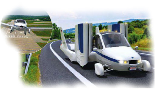 Future Technology Flying Cars: Trrafugia Transition