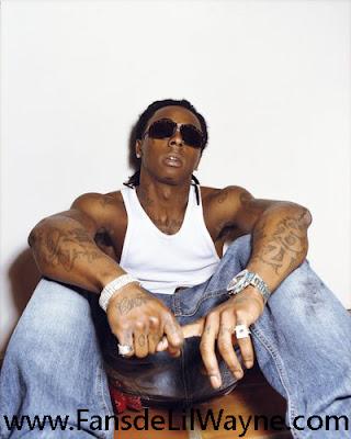 Imagen de Lil Wayne en una sesion fotografica