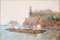 Timber Raft, 1868