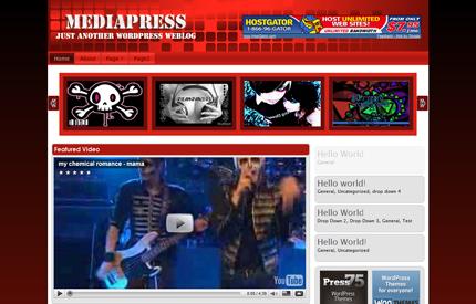 Mediapress Red