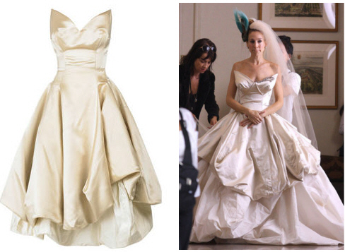 Wedding Lady: Carrie Bradshaw\'s Vivienne Westwood Dress