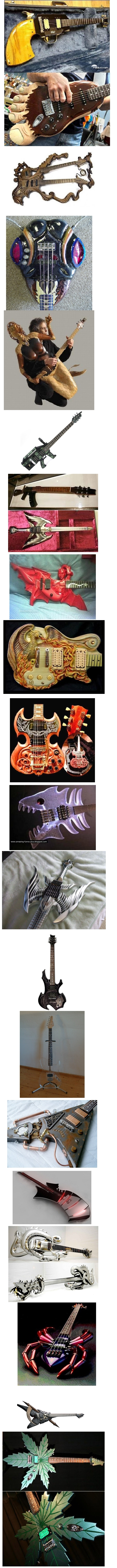 Crazy Custom Guitars Mod