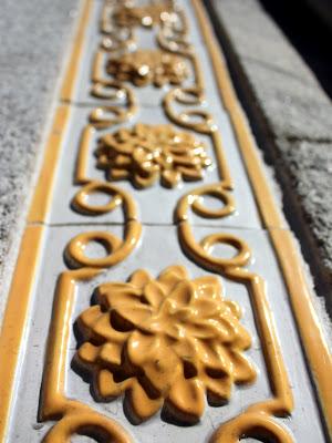Tiles in Porto Portugal