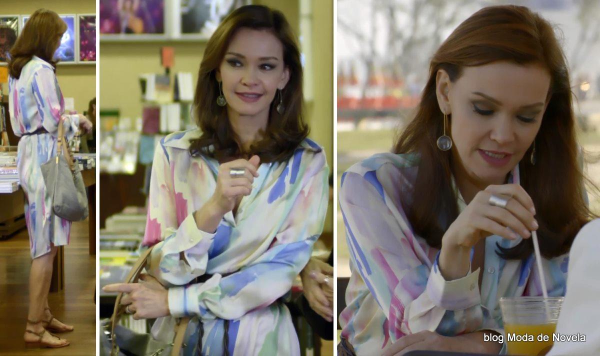 moda da novela Em Família - look da Helena dia 16 de maio