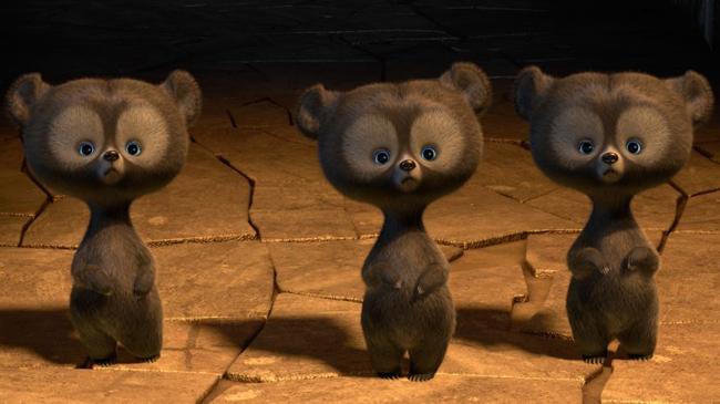 หมีจิ๋วสามพี่น้อง (ในหนัง Brave)