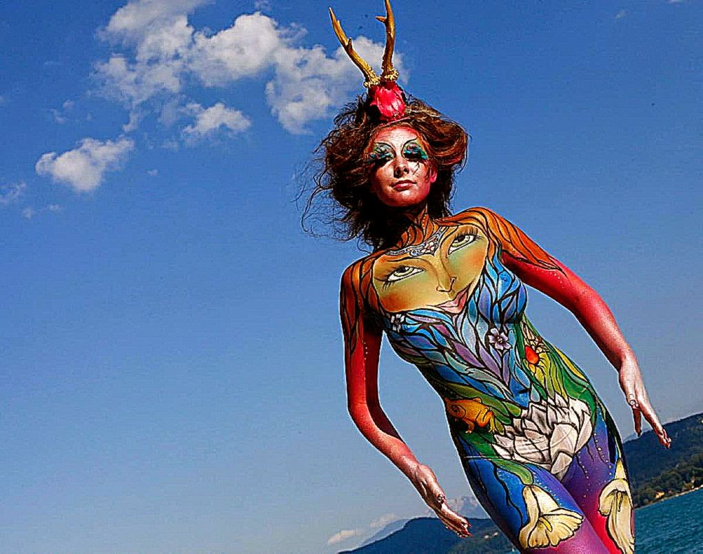 Stunning images from this years World Bodypainting