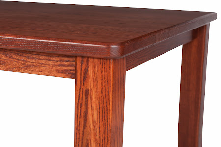 70″ x 42″ Pennsylvania Dining Table in Pecan Oak