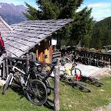 Bike Tour zur Marzoner Alm 22.09.11