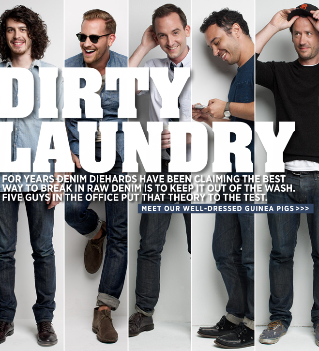 Dirty Laundry - J.CREW