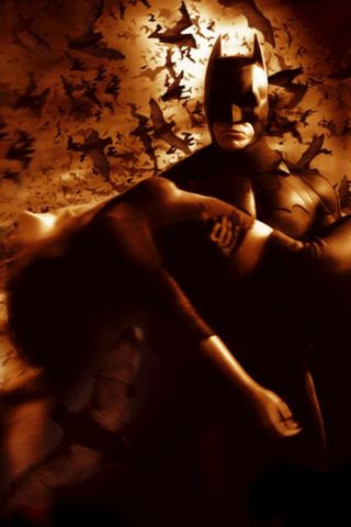 Batman Begins Movie Poster Wallpaper For iPhone