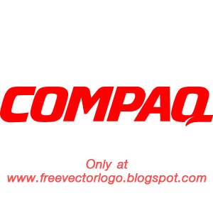 Compaq logo vector