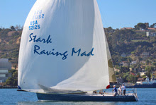 J/125 Stark Raving Mad- sailing off San Diego in Hot Rum Series