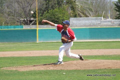 Miguel Serrano de Yaquis en el beisbol municipal