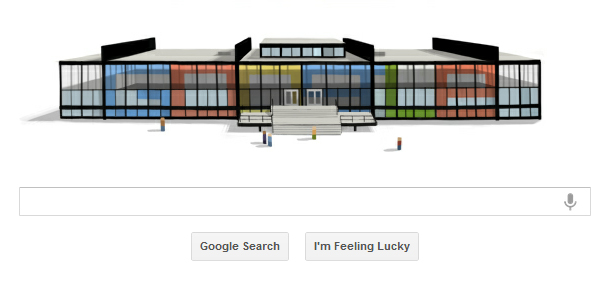 Mies van der Rohe's 126th Birthday Google Homepage, mies van der rohes 126th birthday google doodle.jpg