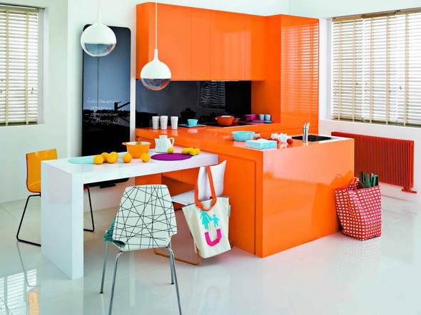 Pomarańczowa kuchnia