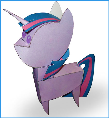 Twilight Sparkle Doll Papercraft
